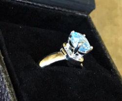 Ladies Himber Ring - Topaz