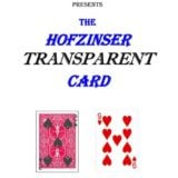 Hofzinser Transparent Card - Gary Plants