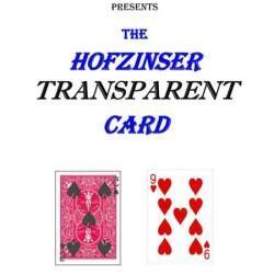 Hofzinser Transparent Card - Gary Plants