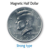 Magnetic US Half Dollars - Kreis Magic DVD