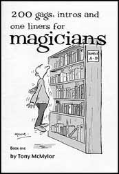 200 Gags, Intros & One-Liners For Magicians (Book)