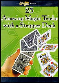 25 Amazing Magic Tricks With A Stripper Deck (DVD)