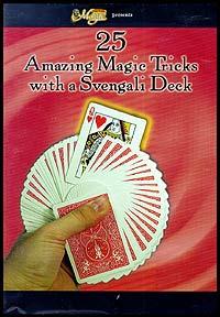 25 Amazing Magic Tricks With The Svengali Deck (DVD)