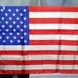 50 Star U.S. Flag Silk (Rice)