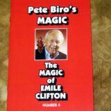 The Magic of Emile Clifton (Biro) - Book