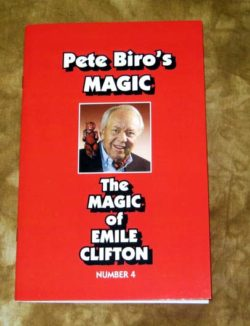 The Magic of Emile Clifton (Biro) - Book