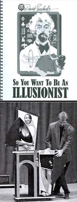 So You Want To Be An Illusionist - Seebach (Book)