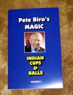 Indian Cups & Balls (Biro) - Book