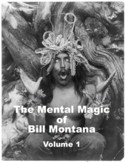 The Mental Magic Of Bill Montanta - Vol. 1 - Book