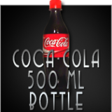 COCA COLA 500 ml BOTTLE - Magic Latex