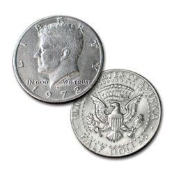 Flipper Coin - Half Dollar (Johnson)