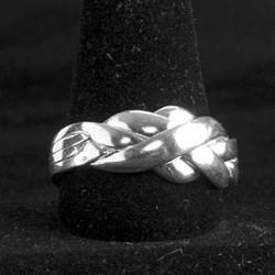 Puzzle Ring (Magic Puzzle Ring) - BJW