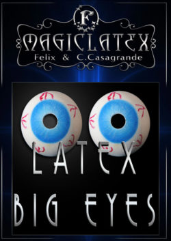 Latex Big Eyes (Pair) - Magic Latex