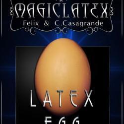 Latex Brown Egg - Magic Latex