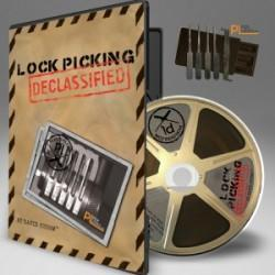 Lock Picking Declassified - DVD W/Picks