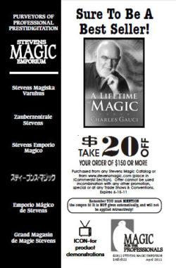 Stevens Magic Catalog - April 2011 (SME-B22)