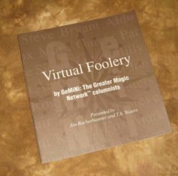 Virtual Foolery - Booklet