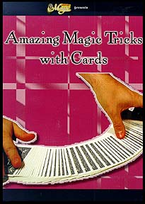 Amazing Magic Tricks With Cards (DVD)