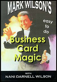 Business Card Magic (Wilson) (DVD)