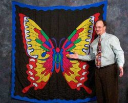 Butterfly Design Silk (6-foot)