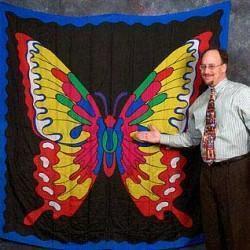 Butterfly Design Silk (6-foot)