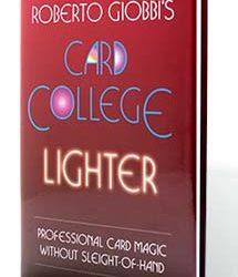 Card College Lighter (Giobbi) Book