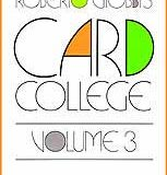 Card College, Volume 3 (Book)