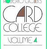 Card College, Volume 4 (Book)