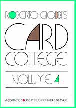 Card College, Volume 4 (Book)
