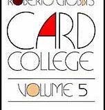 Card College, Volume 5 (Book)