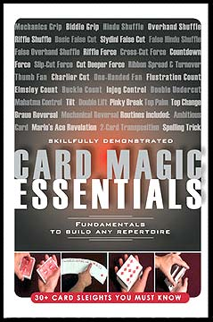 Card Magic Essentials (Medina) (DVD)