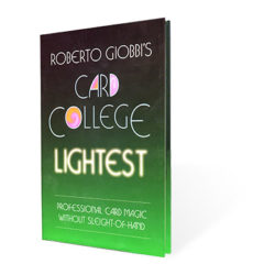 Card College Lightest (Giobbi) Book