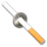 Cigarette Thru Quarter (Johnson)