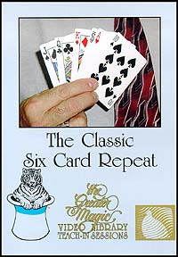 Classic Six Card Repeat - Teach In Series (DVD)