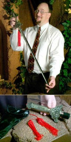 Collapsible Sword