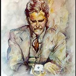 Dai Vernon Portrait (Small Version)