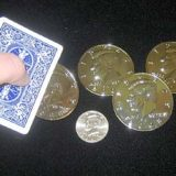 Deluxe Jumbo Half Dollar Shells 3 Plus 1 Set