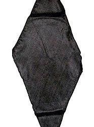 Diamond Cut Silk - Black