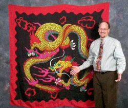 Dragon Design Silk (6-foot) - Jumbo Silk