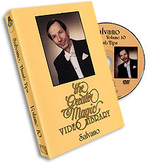 Salvano, Volume 10  (Thumb Tips) (GMVL) DVD