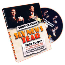 Sly News Tear - Tony Clark - DVD