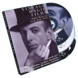 Vintage Magic Films: Silent Films of Early Magic Stars - DVD