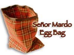 Senor Mardo Egg Bag - Martin Lewis