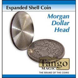 Expanded Shell Coin - Morgan Dollar (Heads)