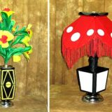 Flower Vase To Lamp