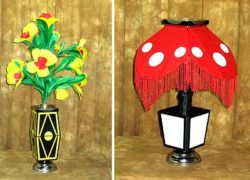 Flower Vase To Lamp