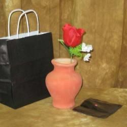 Clay Flower Vase - Latex