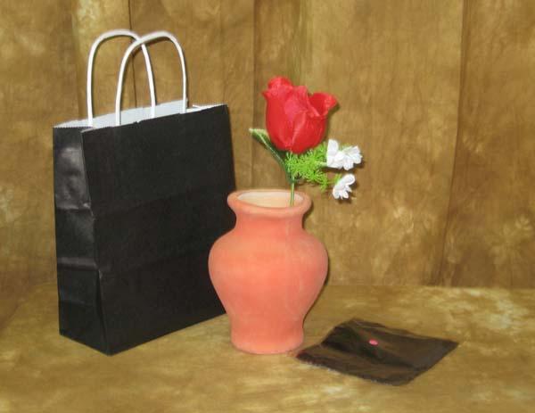 Stevens Magic Emporium & Clay Flower Vase - Latex