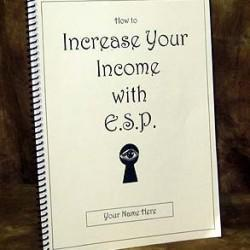 How To Increase Your Income With ESP (Mark Edward) (Book) Exclus