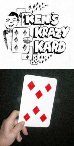 Ken's Krazy Kards (Regular Size) Ken Brooke